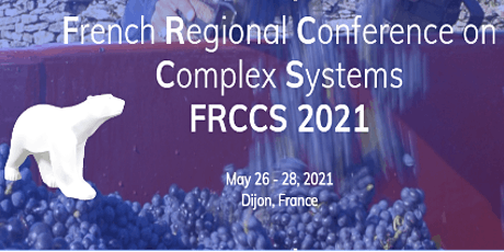 FRCCS 2021 - French Regional Conference on Complex Systems billets