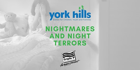 Nightmares and Night Terrors - Triple P Tip Sheet Discussion billets