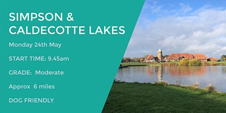 SIMPSON & CALDECOTTE (MK) WALK | 6 MILES | MODERATE | NORTHANTS tickets
