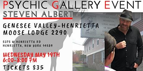 Steven Albert: Psychic Gallery Event - Henrietta Moose tickets