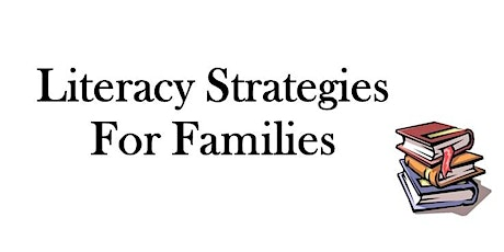 Literacy Strategies for Families tickets