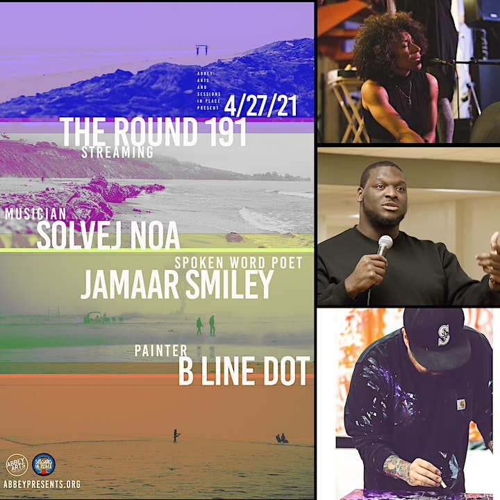 The Round 191: with Solvej Noa, poet Jamaar Smiley, painter B Line Dot image