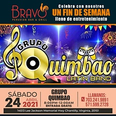 """GRUPO QUIMBAO AT PERUVIAN BAR & GRILL"" ( FREE ADMISSION)reservation olny tickets"