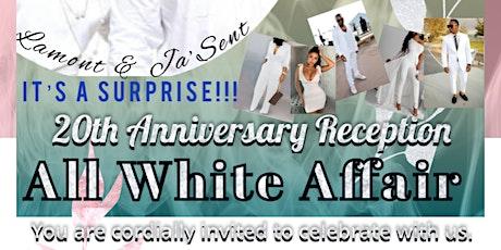 20th Anniversary All White Affair Reception tickets