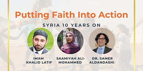 Putting Faith into Action- Syria 10 years on tickets