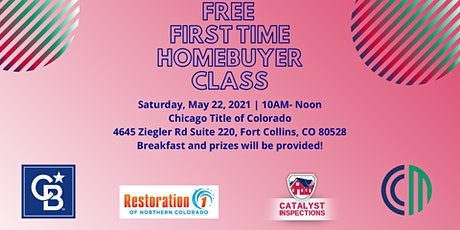 First Time Home Buyer Class entradas