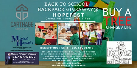 BACK TO SCHOOL  - BACKPACK  GIVEAWAY Presented by Carthage Church of God tickets