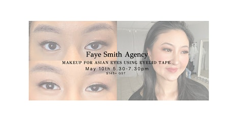 Makeup for Asian Eyes Using Eyelid Tape tickets