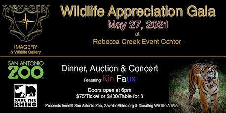 Voyager Wildlife Appreciation Night - Dinner, Auction & Concert tickets