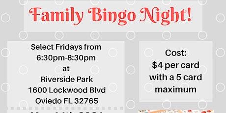 May Family Bingo Night tickets