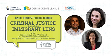 Race, Equity, Policy Series: Criminal Justice through the Immigrant Lens tickets