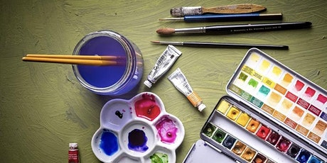 Watercolour Weekly Painting Club Every Sunday 4 pm tickets