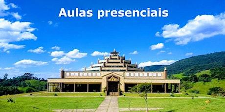 Aulas presenciais no Templo pela Paz Mundial ingressos