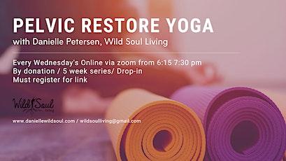 Pelvic Restore Yoga tickets
