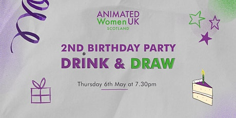 Birthday Drink and Draw tickets