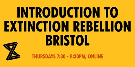 Introduction to Extinction Rebellion Bristol tickets
