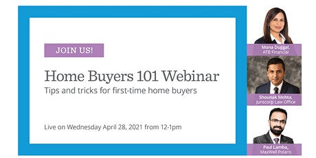 Home Buyers 101 Webinar tickets