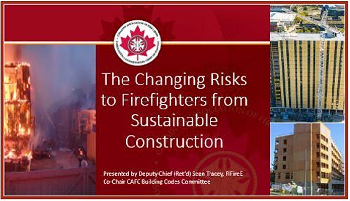 The Changing Risks to Firefighters from Sustainable Construction image