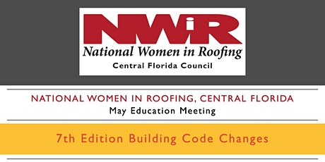 NWIR 7th Edition Building Code Changes tickets