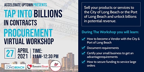 Tap Into Billions In Contracts- Procurement Workshop tickets
