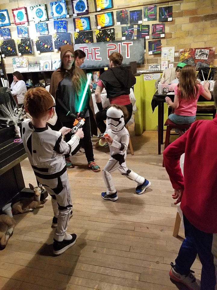 May The Fourth Be With You!  Star Wars pARTy image