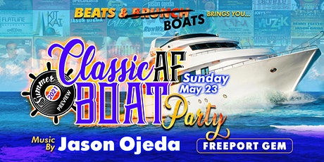 Beats & Boats Presents: Classic AF w/ Jason Ojeda tickets