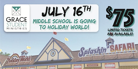 GBC Middle School: Holiday World tickets