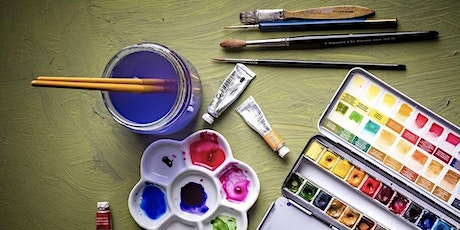 Watercolour Weekly Painting Club Weekday tickets