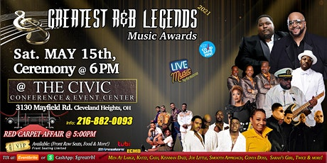 Greatest R&B Legends Music Awards 2021 tickets