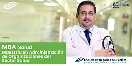 Plática Informativa del MBA Salud entradas