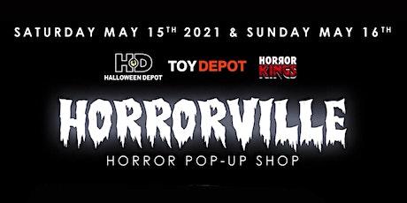 HORRORVILLE Pop Up Shop @ Halloween Depot tickets