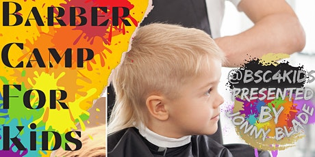 Barber camp for kids tickets