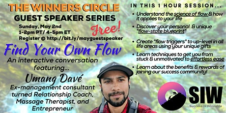 Finding Your Own Flow with Umang Dave tickets