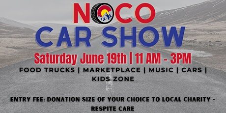 Noco Car Show - Charity Event General Admission tickets