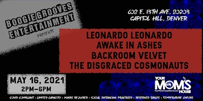 Leonardo Leonarod | The Disgraced Cosmonauts |  Awake in Ashes + More