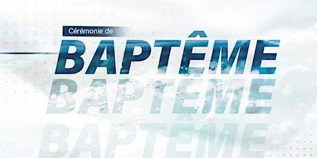 Cérémonie de Baptêmes billets