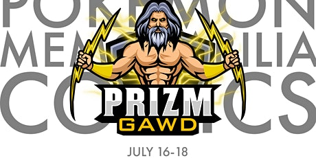 Prizm Gawds: Culture Collision Card, Comics, Kicks and Collectibles Show tickets