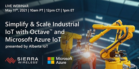 Simplify & Scale Industrial IoT with Octave™ and Microsoft Azure IoT tickets