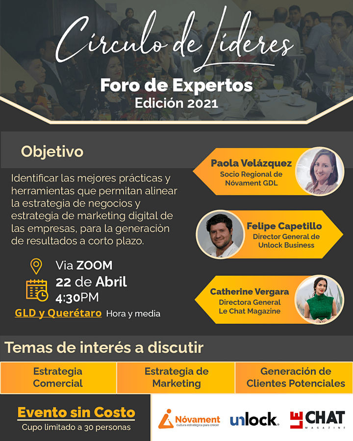 Imagen de Círculo de Líderes Jalisco & Querétaro  -  Inspire by experience