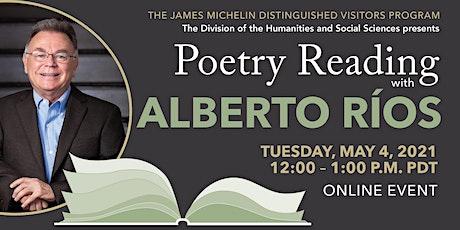 Poetry Reading with Alberto Ríos tickets
