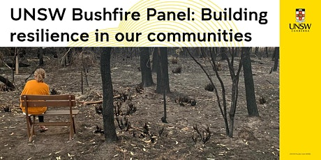 Bushfire Panel: Building resilience in our communities tickets