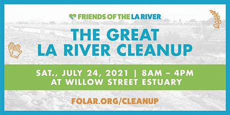The Great LA River CleanUp: Willow Street Estuary tickets