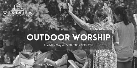 Outdoor Worship Night A - 5:30 pm billets
