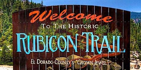 The Rubicon Trail Adventure tickets
