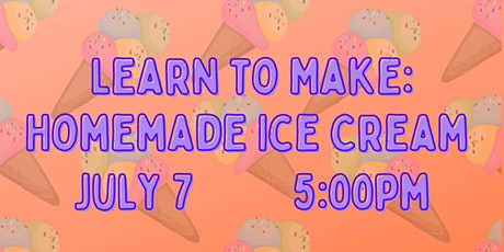 Learn to Make: Homemade Ice Cream tickets