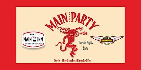 Main Street Karaoke Party tickets