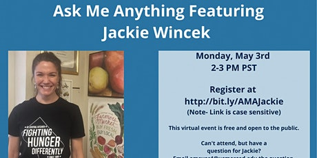 Ask Me Anything Featuring Jackie Wincek tickets