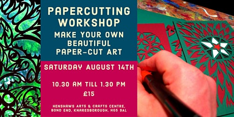 The Art of Papercutting - Knaresborough FEVA Workshop tickets