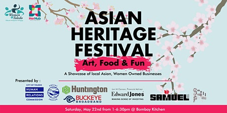 Asian Heritage Month: Art, Food & Fun tickets