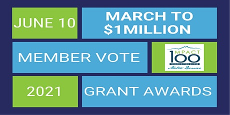 2021 Grants Awards Celebration: March to $1Million tickets